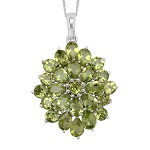 Peridot Pendant from Liquidation Channel