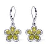 Peridot Earrings from Liquidation Channel