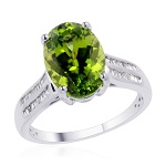 Peridot Ring from Liquidation Channel