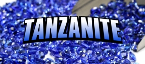 Tanzanite gemstone logo