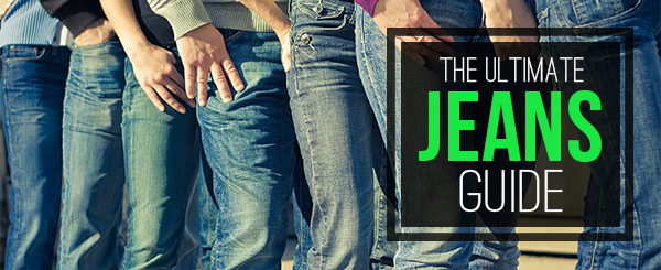 The Ultimate Jeans Guide Banner Image.