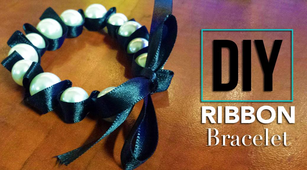 DIY ribbon bracelet WP