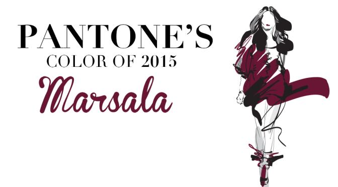 Pantone's Color of 2015: Marsala