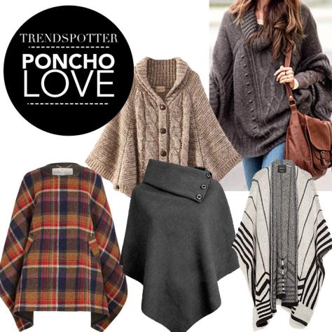 Trendspotter Poncho Love
