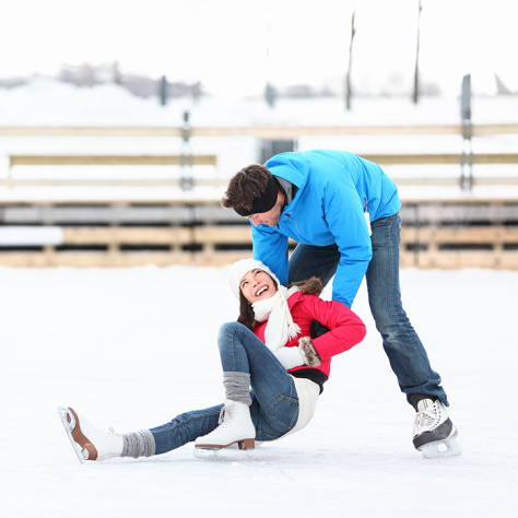 Winter Date Idea - Ice Skating